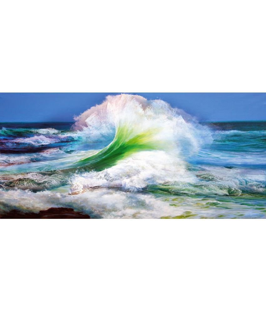 Vitalwalls Abstract Paper Art Prints Without Frame Single Piece