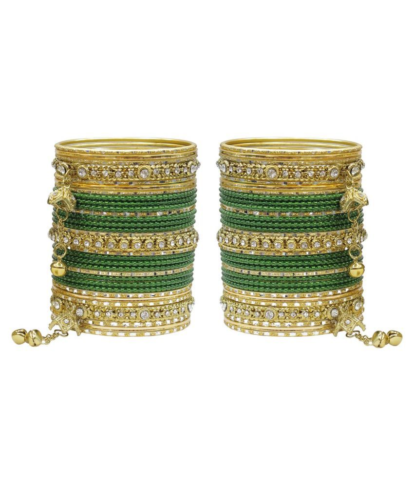 Much More Multicolour Bangle Set