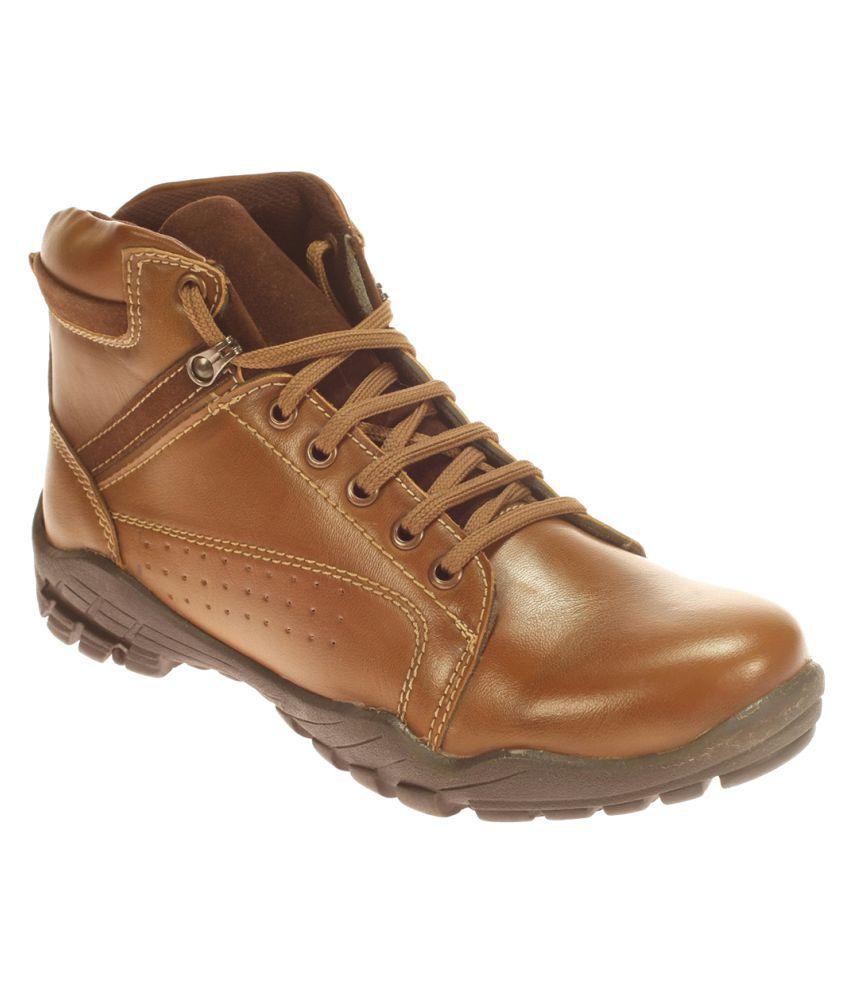 Khadim's Brown Hiking & Trekking Boot