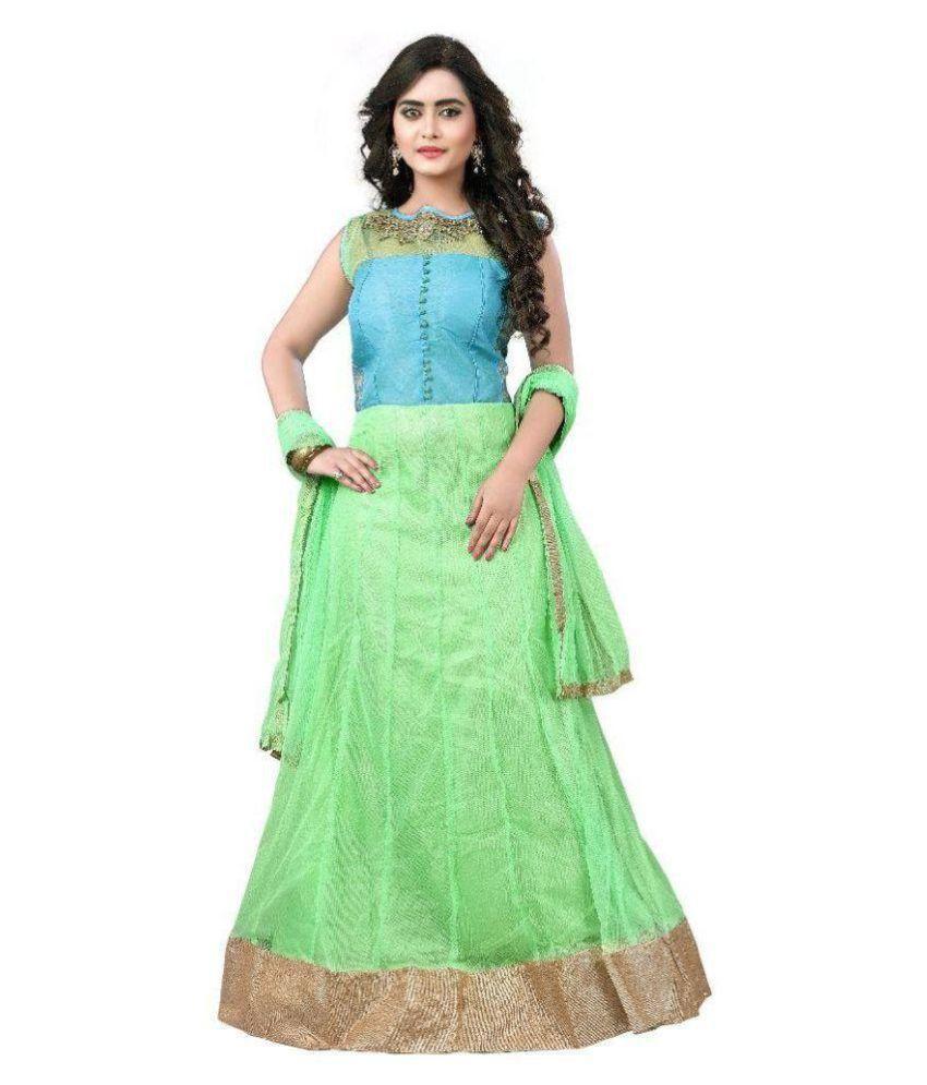 Kalabhai Kanabhai Baldaniya Multi Color Net Gown