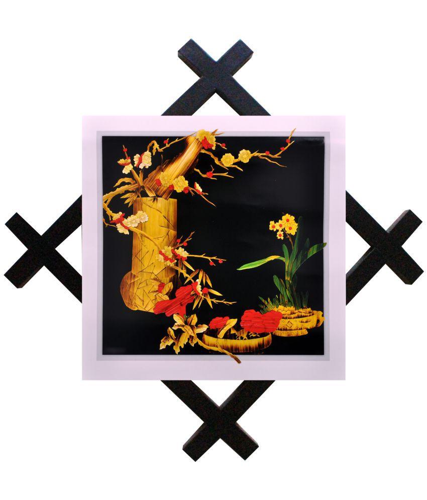 SAF Black Showpiece with Frame