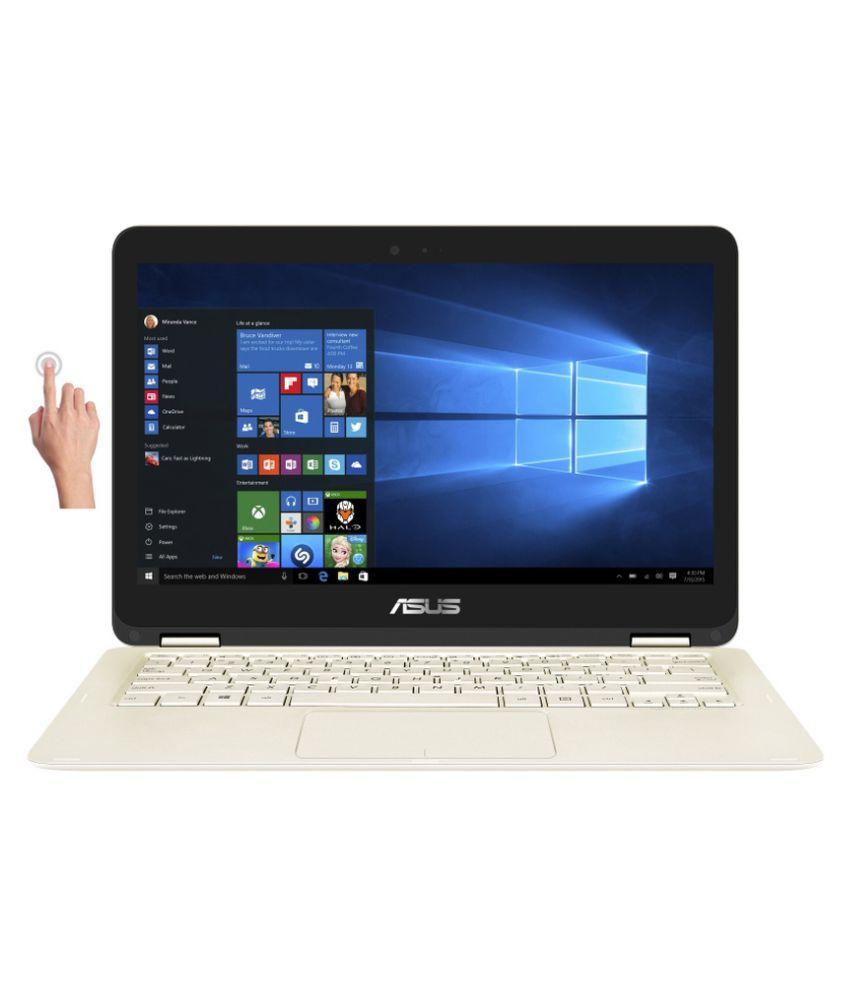 Asus UX360CA-C4012T 2-in-1 Laptop (90NB0BA1-M01980) (Intel Core M- 4GB RAM- 128GB SSD- 33.78cm(13.3) Touch- Windows 10) (Gold)