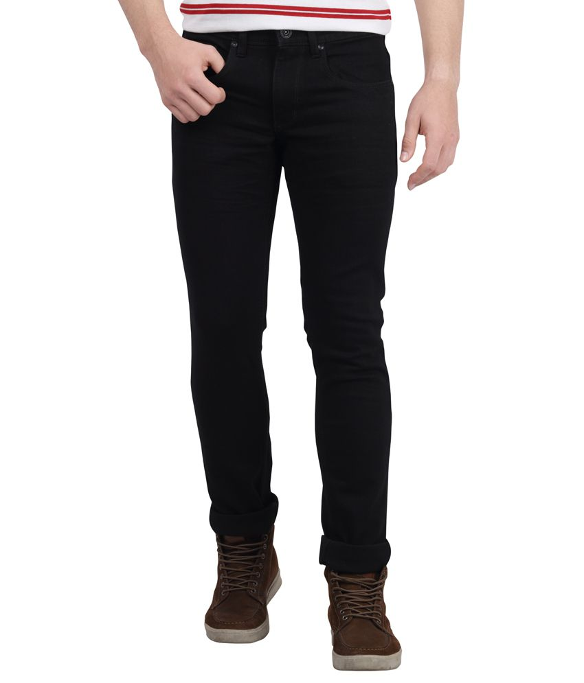 DJ&C By FBB Black Slim Fit Jeans