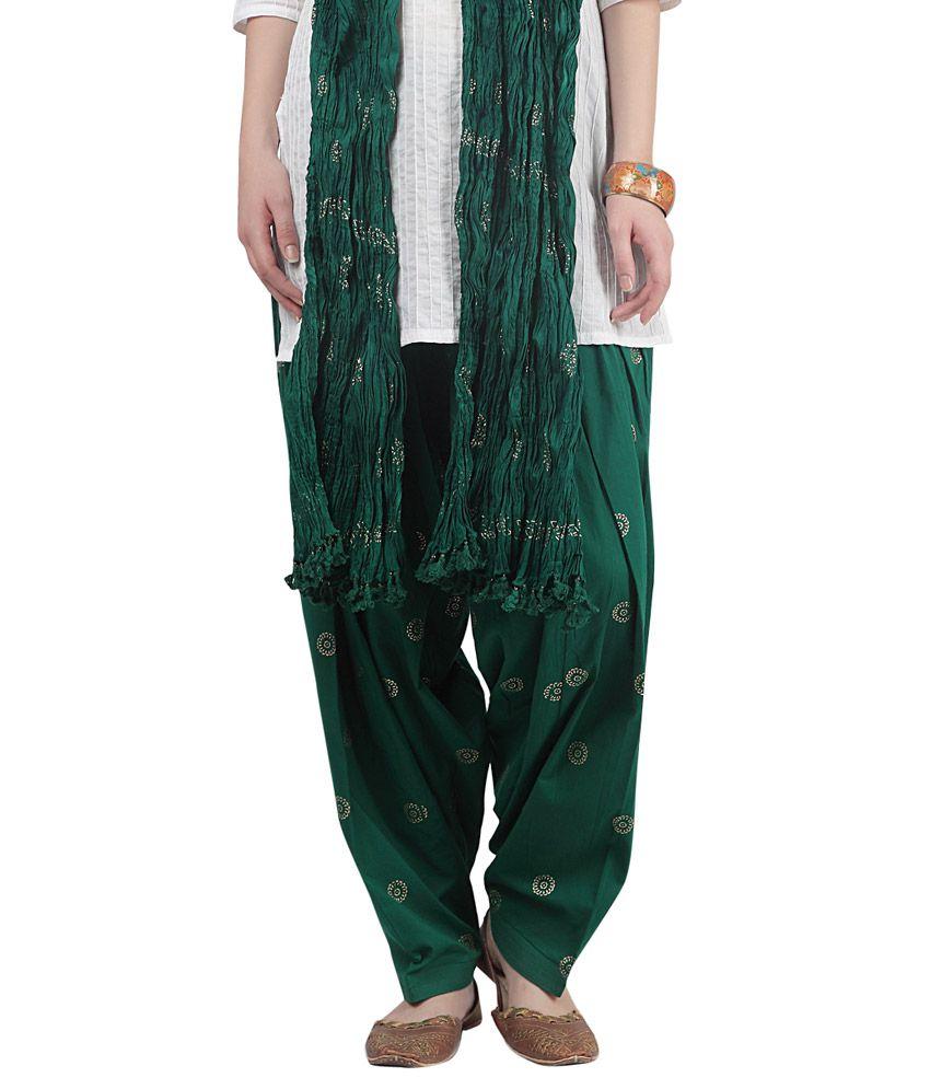 6811cbfa7db Srishti By FBB Green Printed Patiala Salwar & Dupatta Set Price in India -  Buy Srishti By FBB Green Printed Patiala Salwar & Dupatta Set Online at  Snapdeal