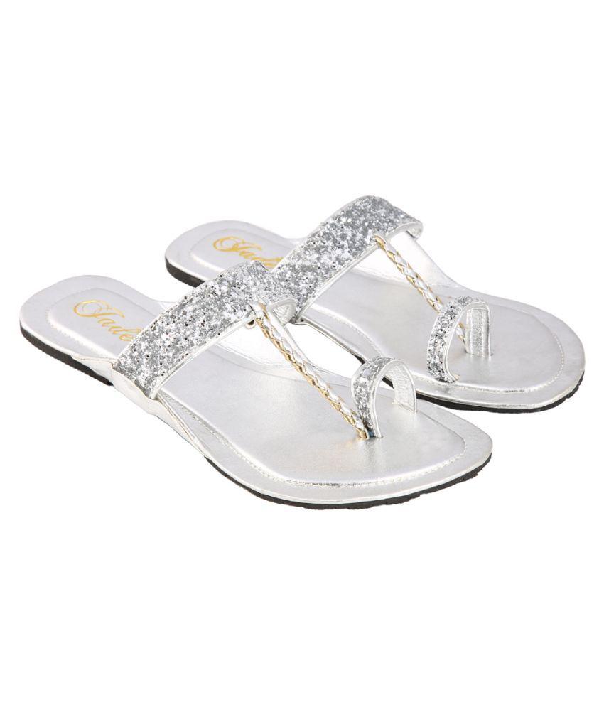 Jade Silver Flats