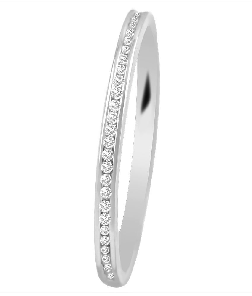 Sparkles 14K White Gold Diamond Ring