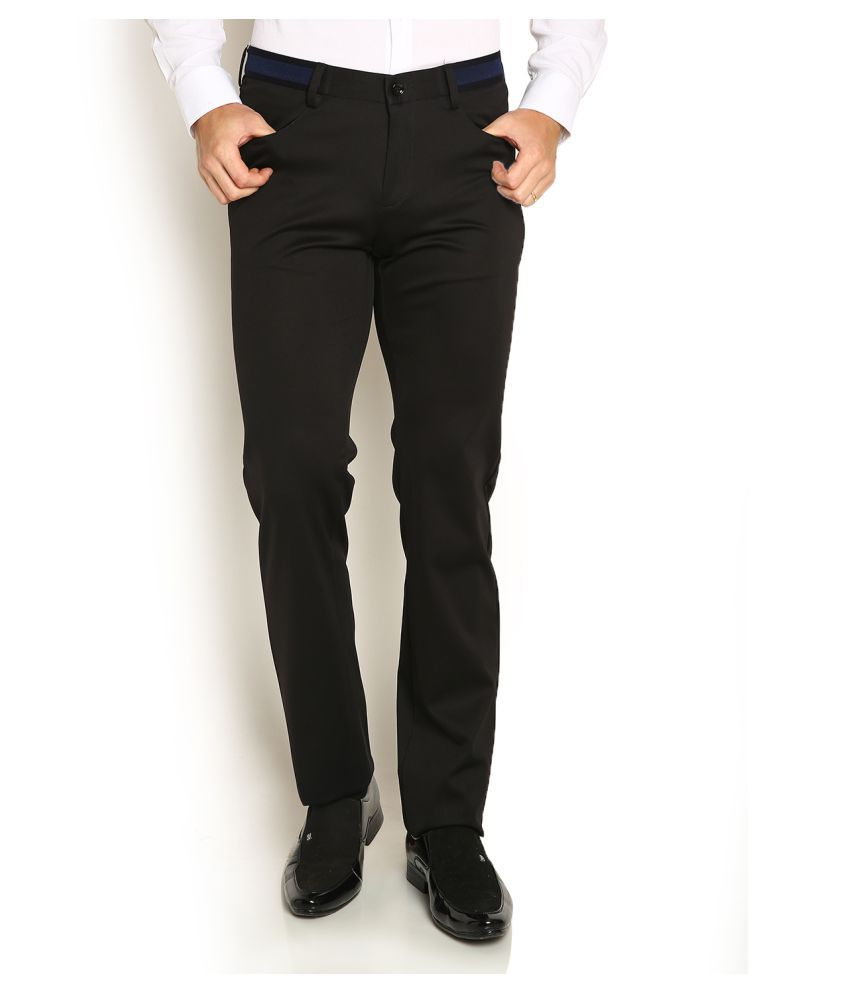 Blackberrys Black Skinny Flat Trouser