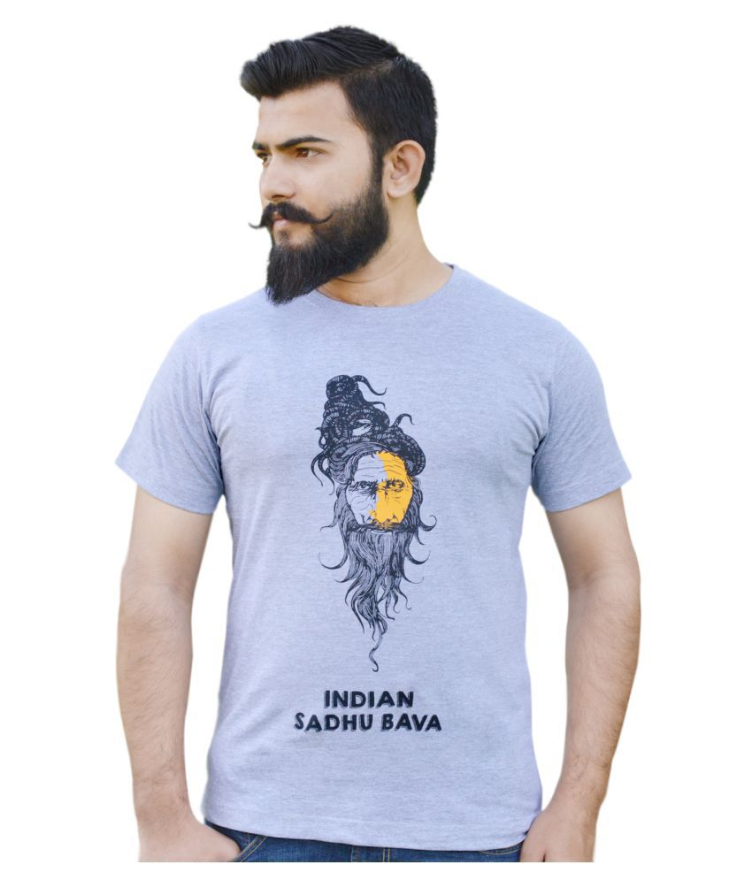 Novus House Blue Round T-Shirt