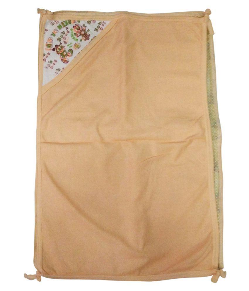 Gold Dust Orange Cotton Baby Wrap Baby Blanket/Baby Swaddle/Baby Sleeping Bag