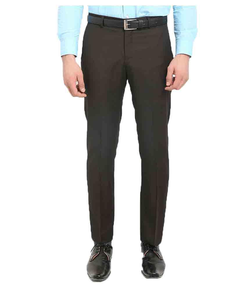 Blackberrys Brown Skinny Flat Trouser