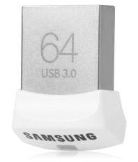 Samsung Usb 3.0 Flash Drive Fit MUF-64BB 64GB Utility Pendrive White