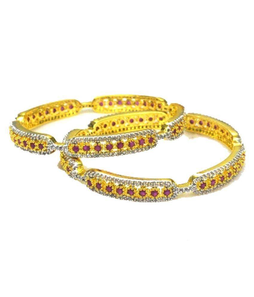 Shonajewels Golden Bangle Set