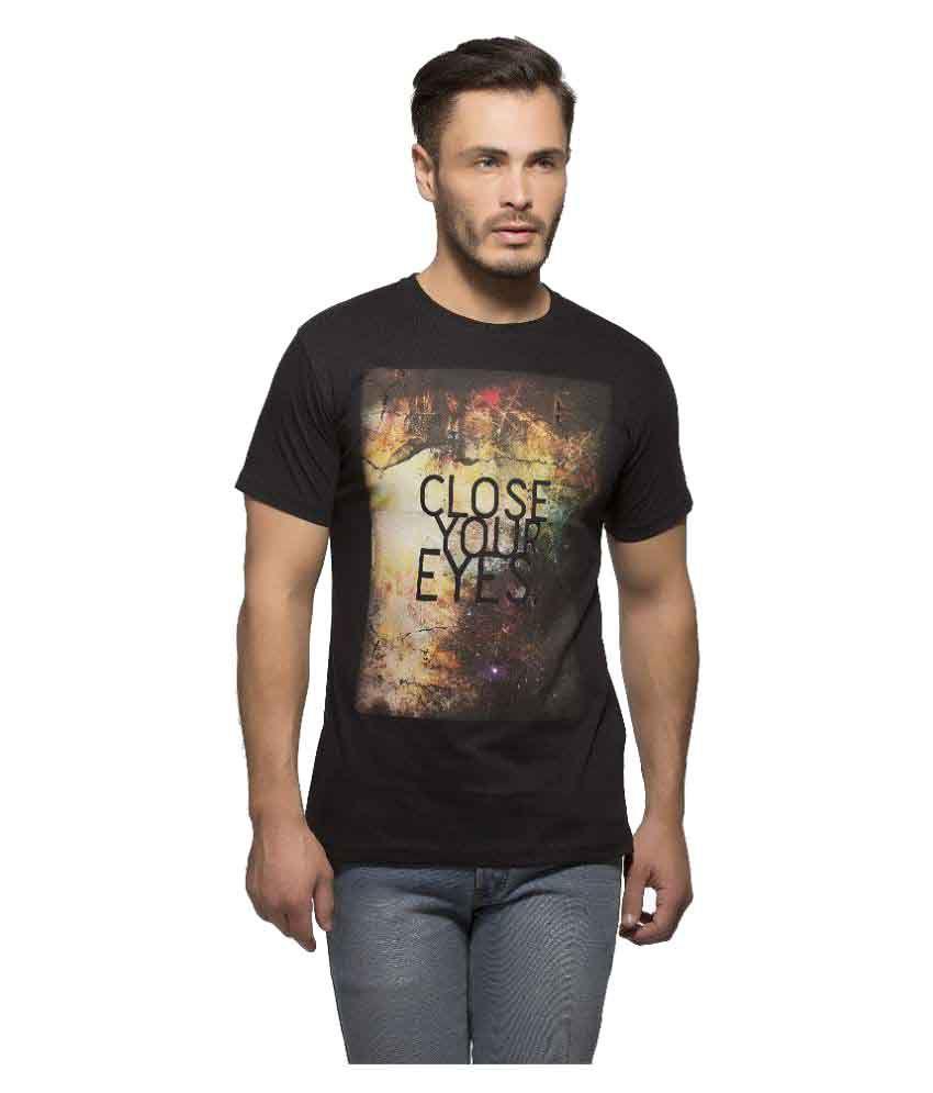 Yo Republic Black Round T-Shirt