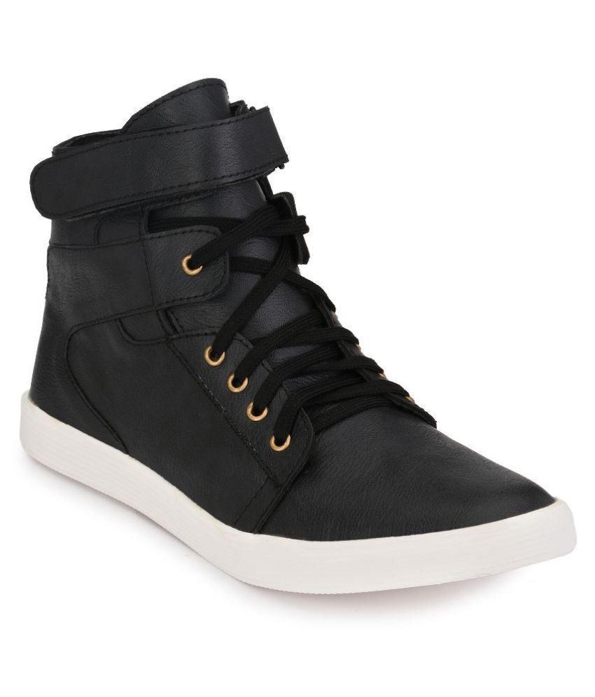 Eazy Lee Black Casual Boot