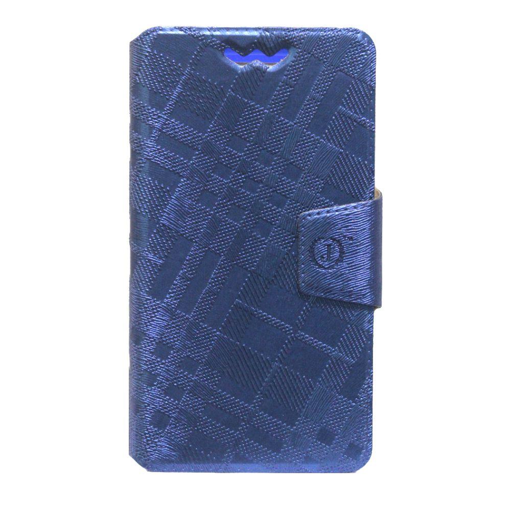 Karbonn A16 Flip Cover by Jojo - Blue