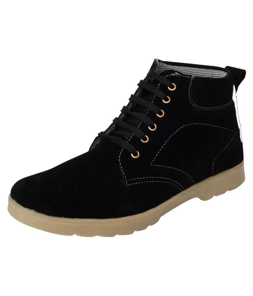 Goalgo Black Casual Boot