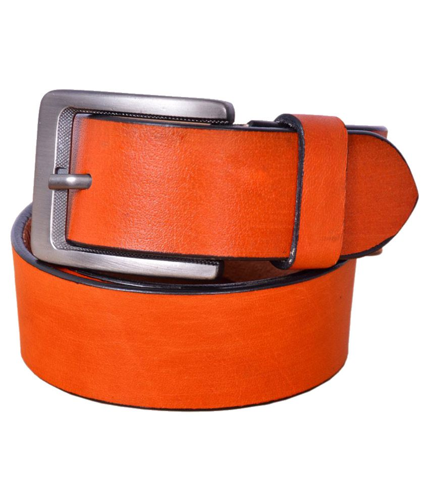 Fadoak Tan Leather Casual Belts