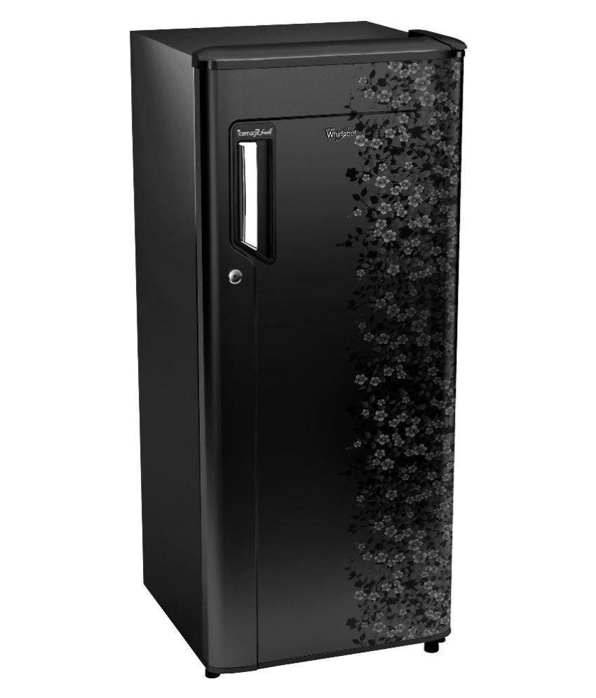 Whirlpool 190 LTR 205 IM PWCOL PRM 5S Single Door Refrigerator Black
