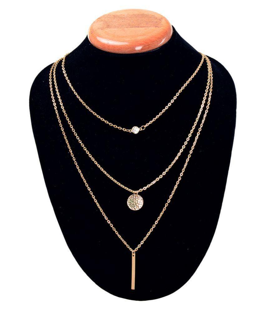 Aaishwarya Golden Necklace