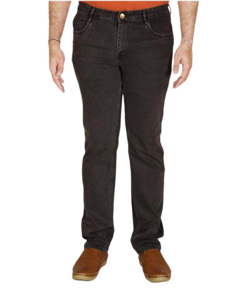 PRANKSTER Grey Slim Fit Jeans