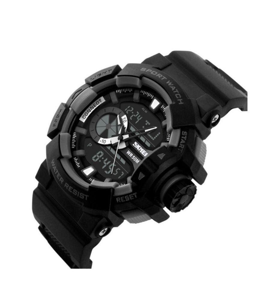 67bbc5c0a Skmei Black Analog-Digital Sports Watch for Men - Buy Skmei Black ...