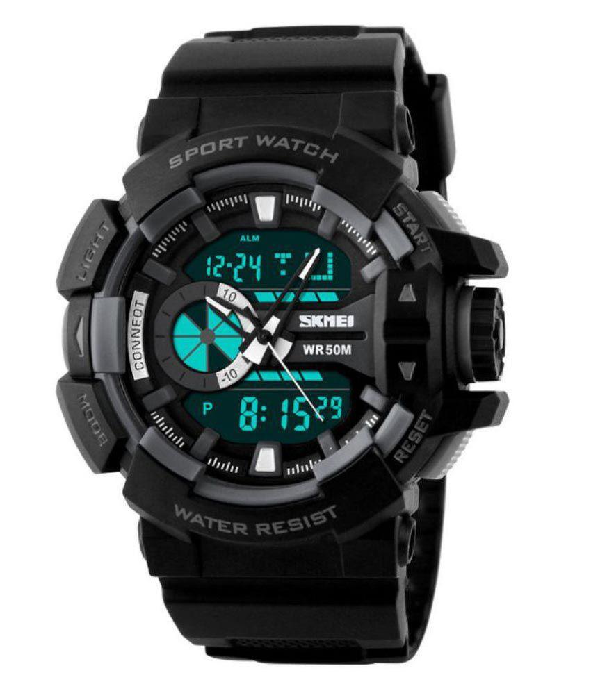 Skmei Black Analog-Digital Sports Watch for Men - Buy ...