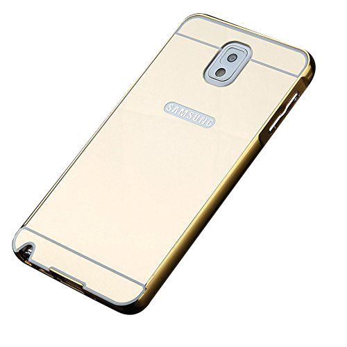 Mirror Back Cover For Samsung Galaxy Note 3 + Zipper earphone free by Style Crome.