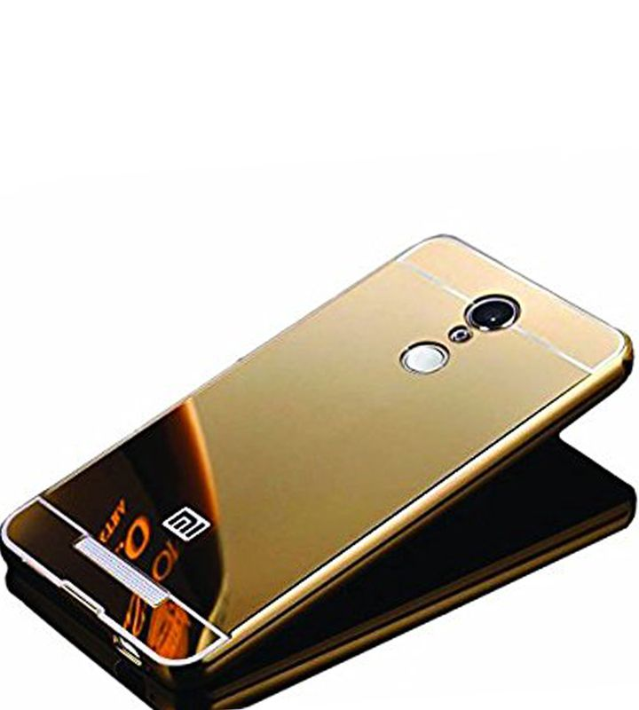 Mirror Back Cover For Xiaomi Mi5 + Zipper earphone free by Style Crome.