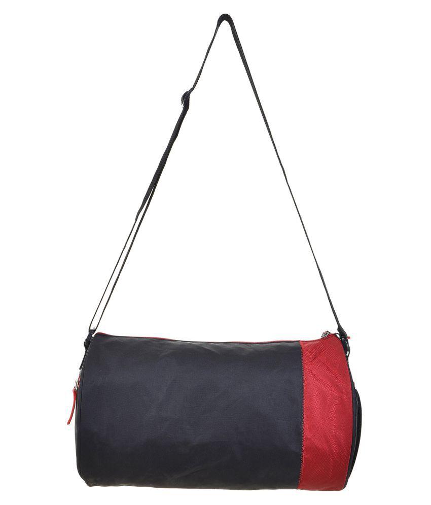 Aquila Red and Black Gym Bag