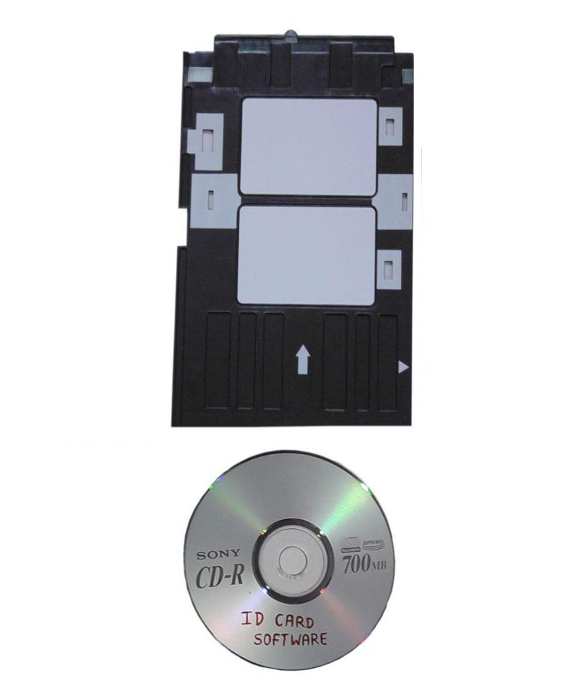 Genuine Epson Id card tray for L800,L805,L850,T50,T60  With Driver CD