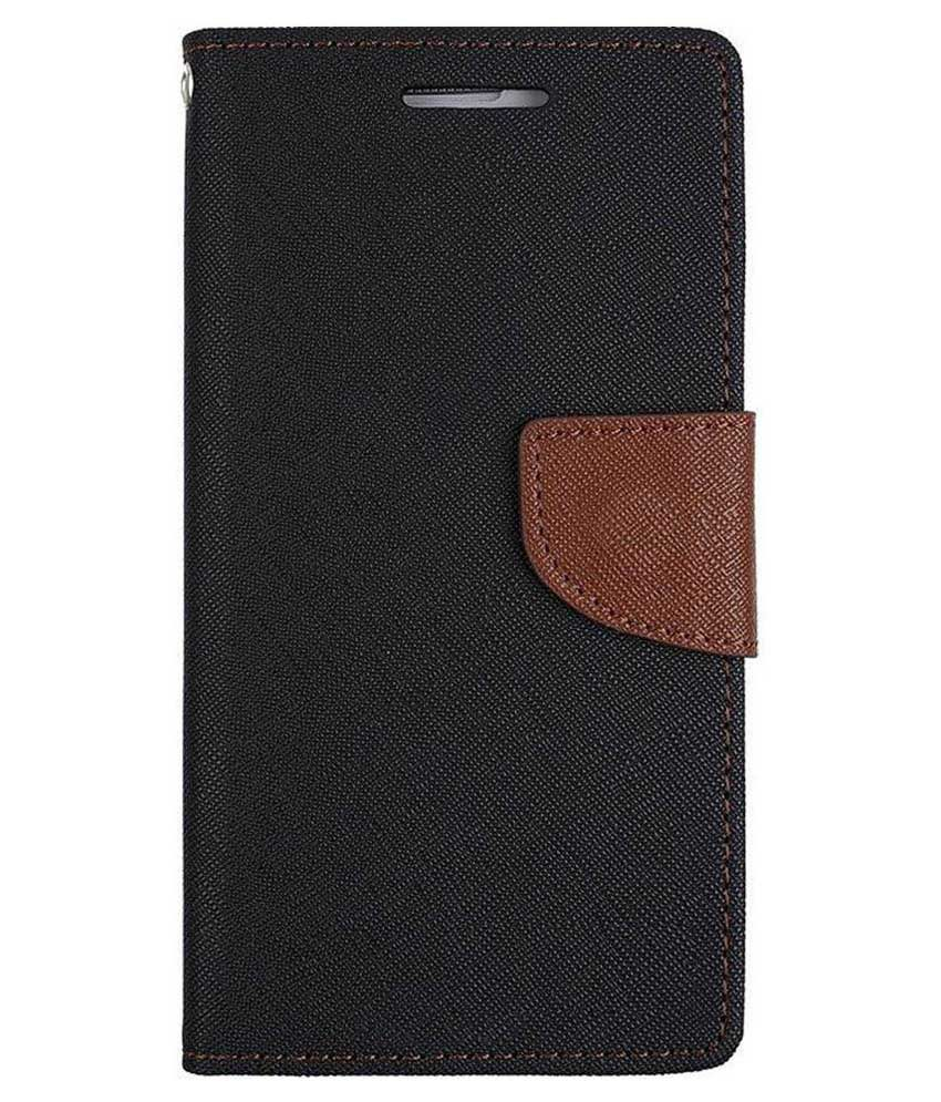 LG Nexus 4 E960 Flip Cover by Kosher Traders - Brown