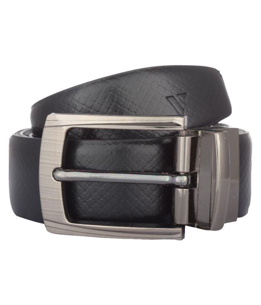 Vestire Black Leather Formal Belts