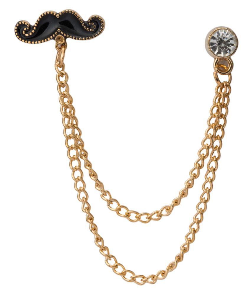 Knighthood Golden Lapel Pin
