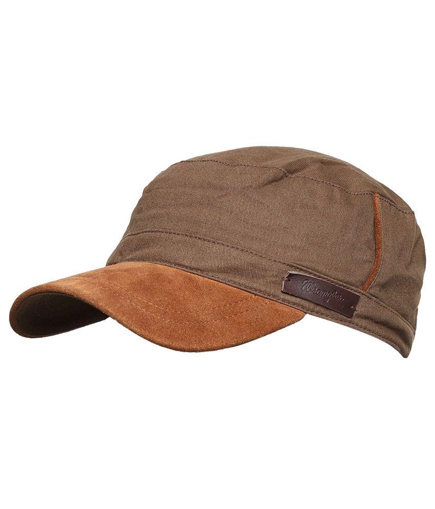 Wrangler WRAC0173 Brown Men Caps
