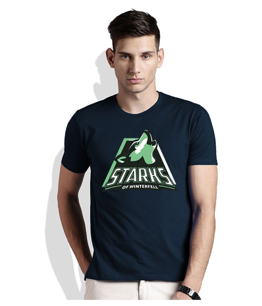 Artywear Navy Round T-Shirt