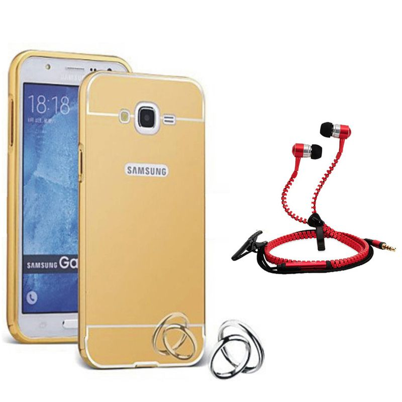 Mirror Back Cover For Samsung Galaxy Note 2 + Zipper earphone free by Style Crome.
