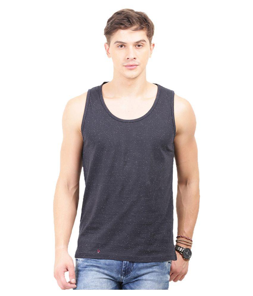 Thisrupt Black Round T-Shirt