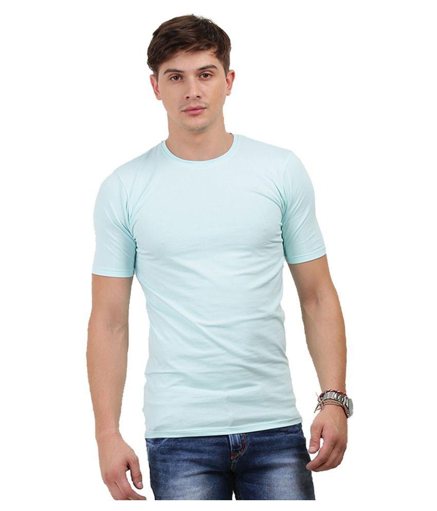 Thisrupt Blue Round T-Shirt