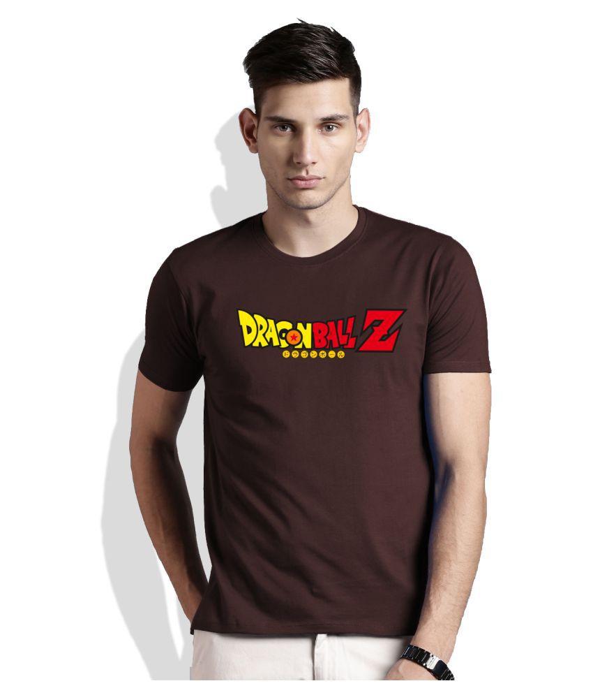 Artywear Brown Round T-Shirt