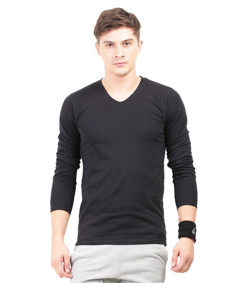 Thisrupt Black V-Neck T-Shirt