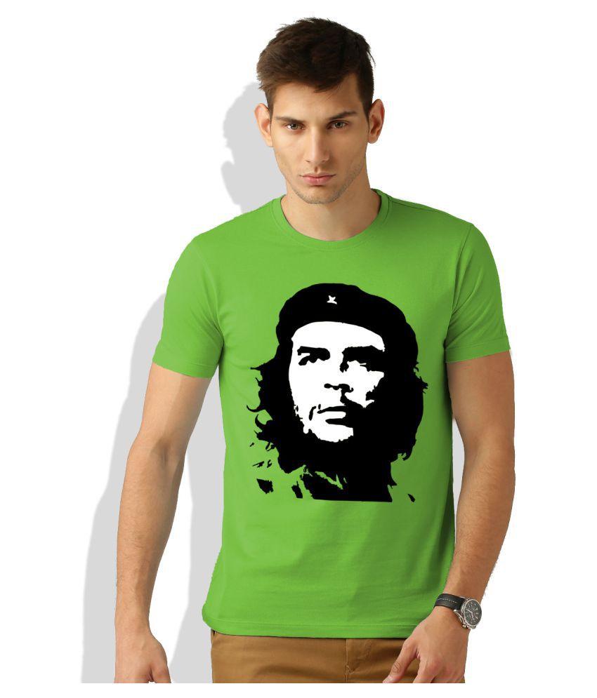 Artywear Green Round T-Shirt