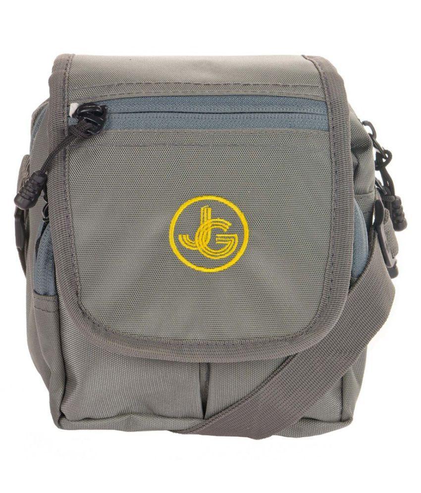 JGShoppe Gray Polyster Sling Bag