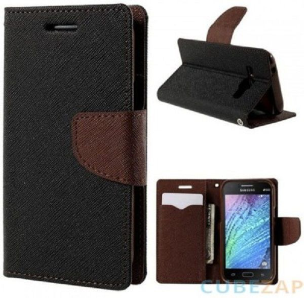 Lenovo K4 Note Flip Cover by Goospery - Black