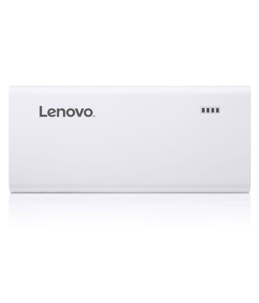 Lenovo PA13000 13000  mAh Li Ion Power Bank White