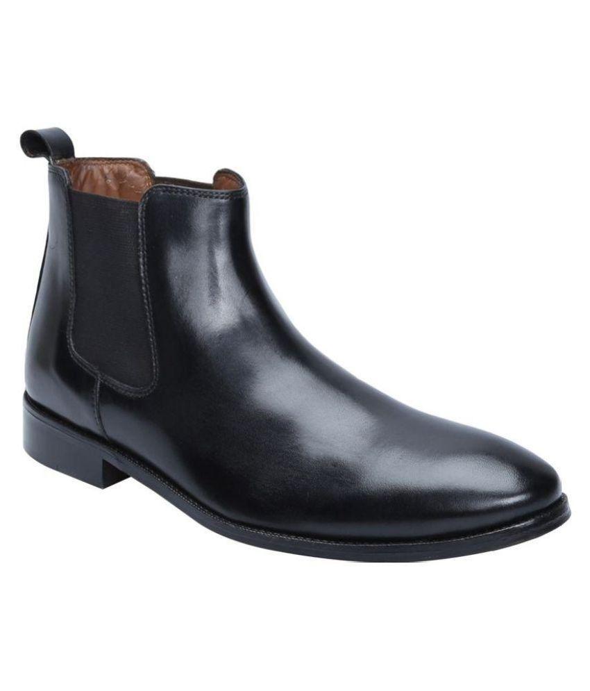 Brune Black Chelsea boot
