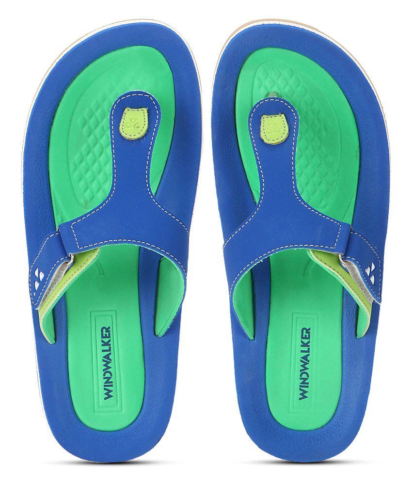 Windwalker Rumba 2 Blue Flip Flops