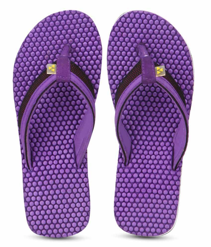 Windwalker IZU Violet Flip Flops