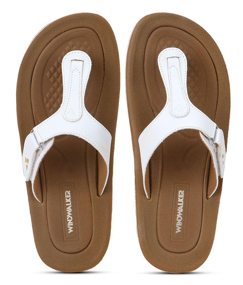 Windwalker Rumba 1 White Flip Flops