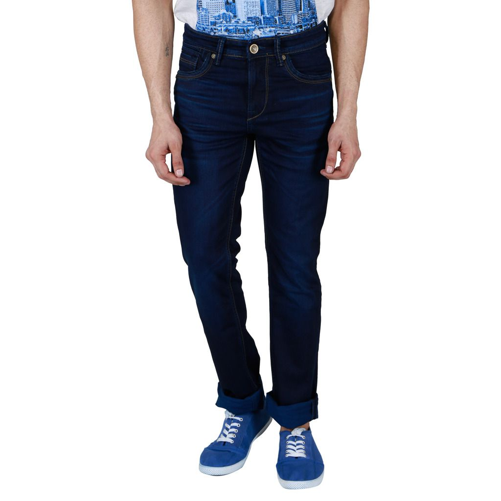 Killer Indigo Blue Skinny Solid