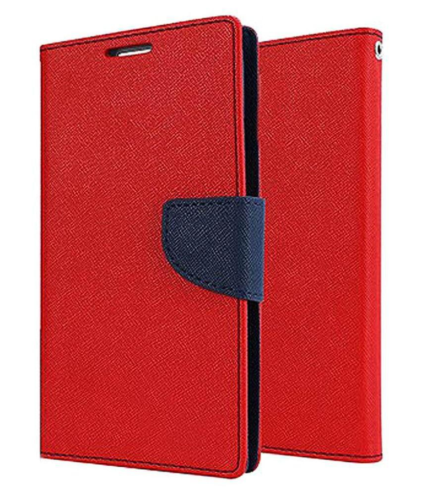 separation shoes a2681 8d02a Gionee S6 Flip Cover by Erry - Red - Flip Covers Online at Low ...